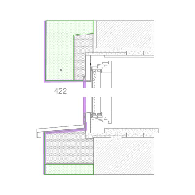 fenster detail b zuerst fensteraustausch mittels eines zargensystems aus holz dann. Black Bedroom Furniture Sets. Home Design Ideas