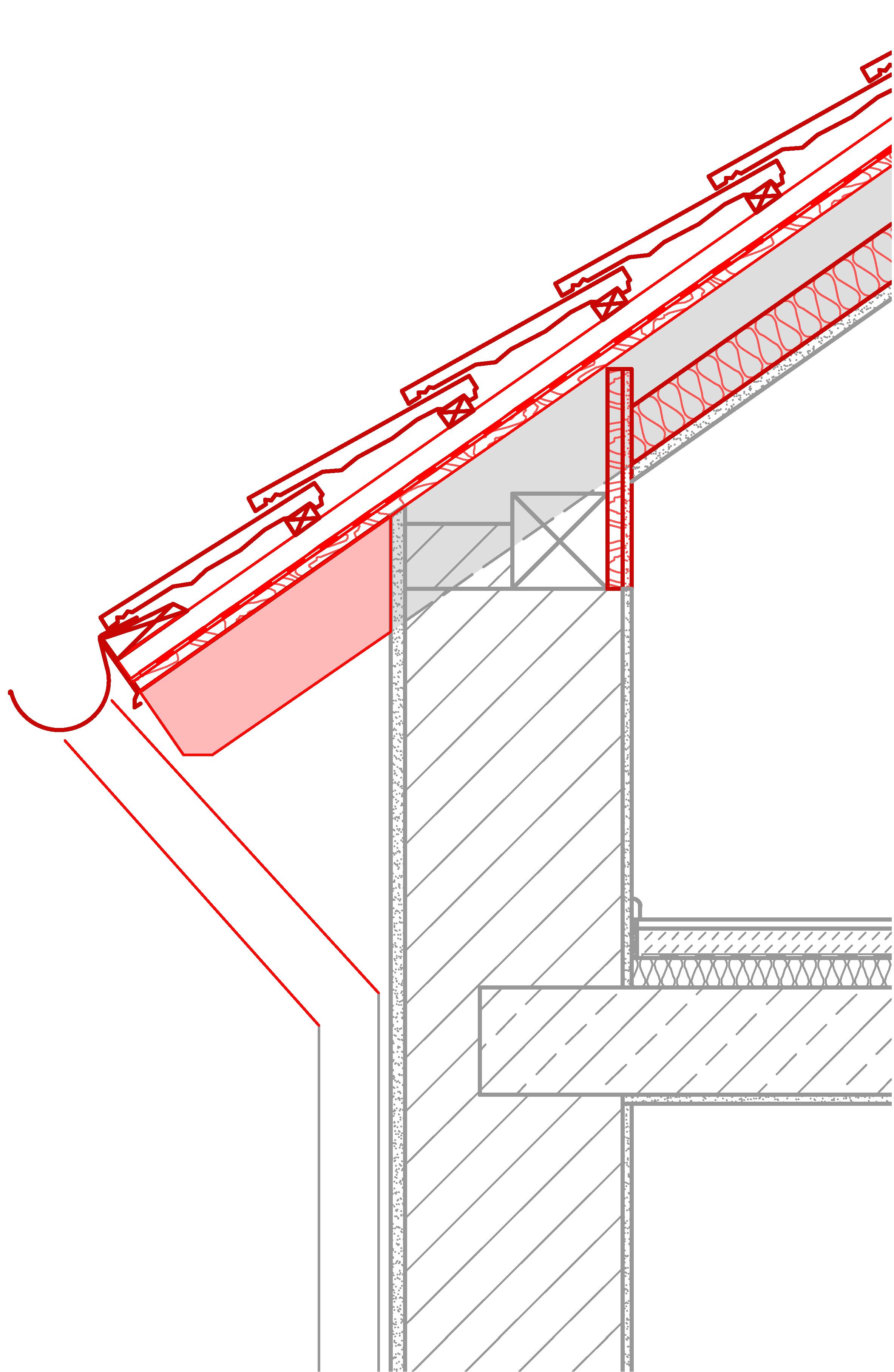 Fabulous 13b Dach Auf+Zwischensparren mit AW - Netzwerk Alpines Bauen MM21